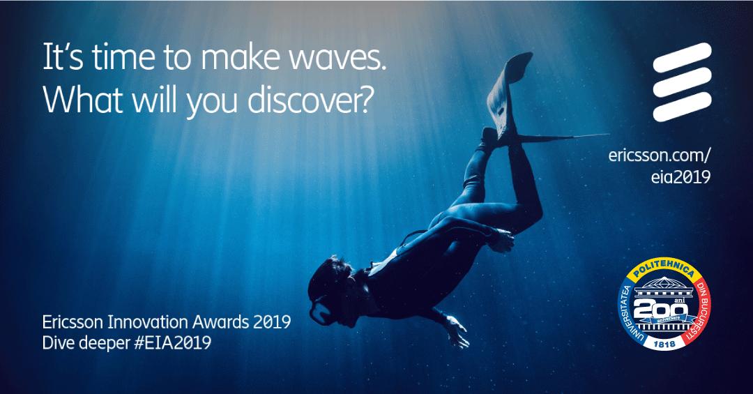 UPB susține – Ericsson Innovation Awards 2019