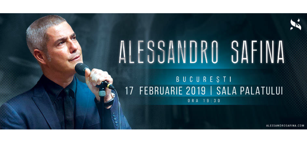 UPB vă invită la concertul susținut, la Sala Palatului, de tenorul Italian Alessandro Safina