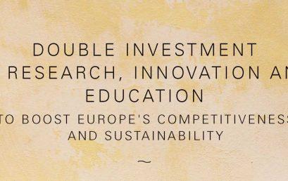 UPB susține dublarea bugetului FP9 – o inițiativă a CESAER și EUA