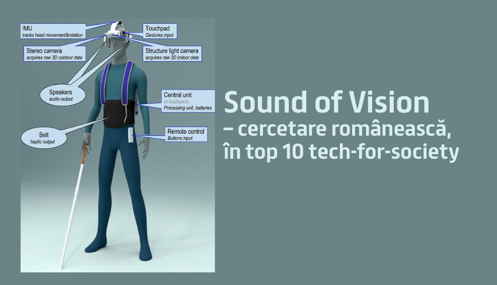 Sound of Vision – cercetare românească, în top 10 tech-for-society