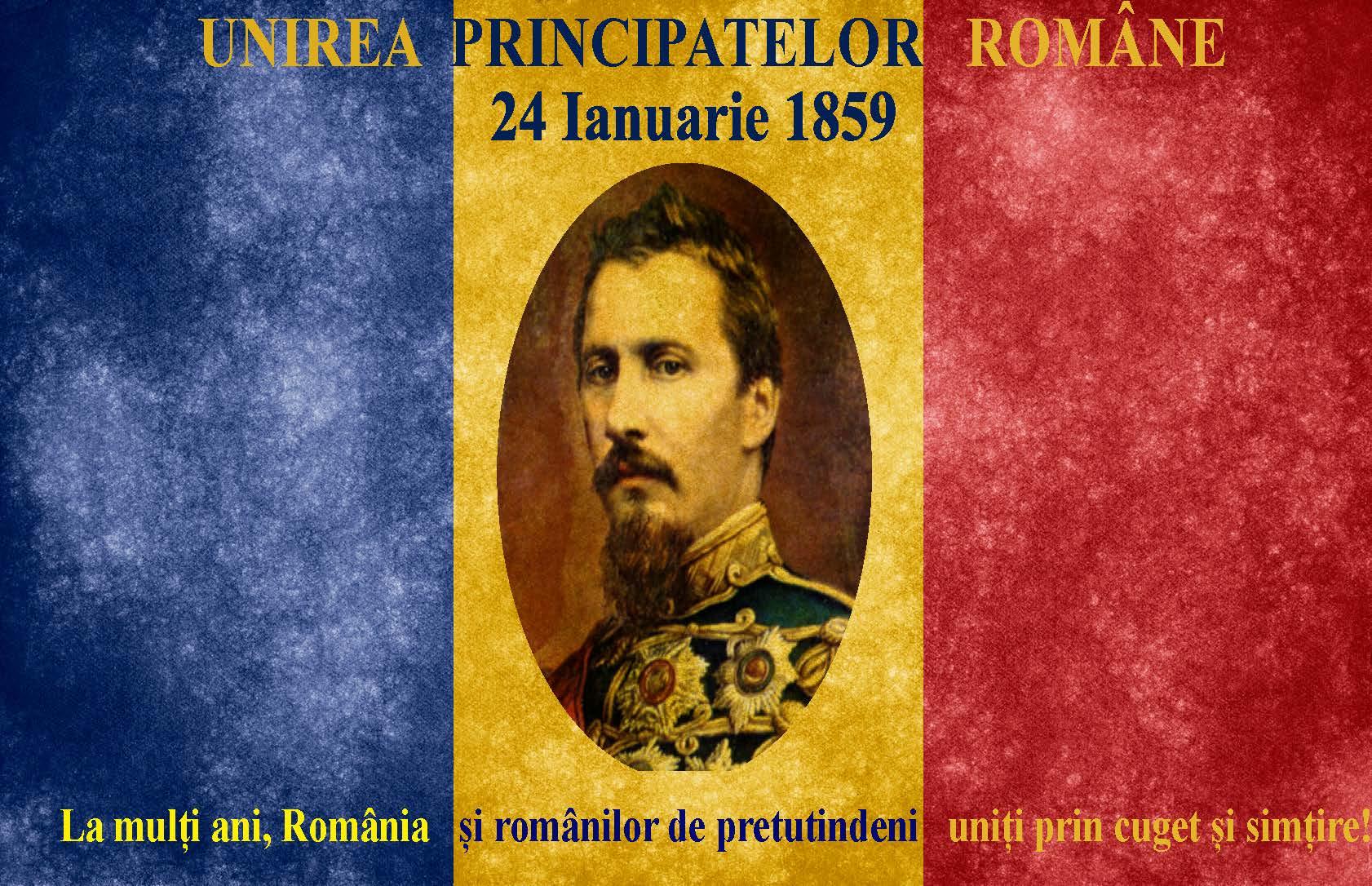 159 de ani de la Unirea Principatelor Române – Mesajul Rectorului