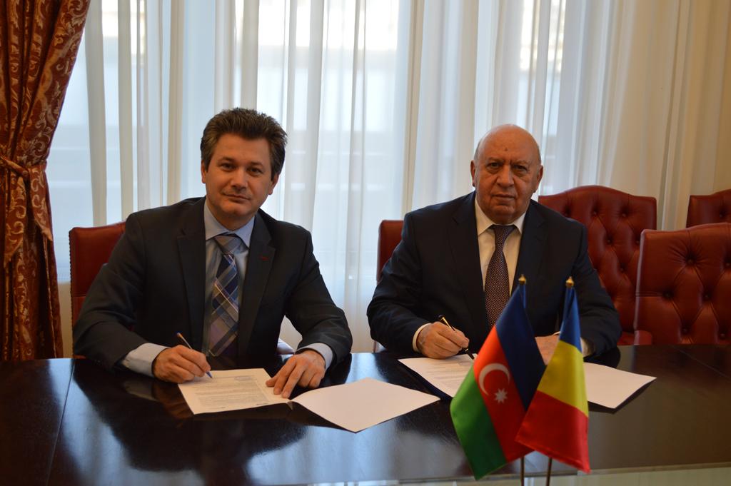 Univeritatea POLITEHNICA Bucvurești  a semnat astăzi un Acord de Parteneriat cu Universitatea de Inginerie din Baku-Azerbaijan