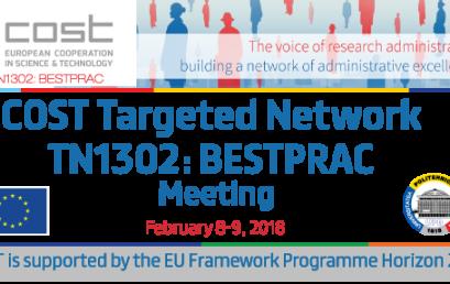UPB gazdă pentru întrunirea grupului de conducere și de lucru al rețelei Europene COST