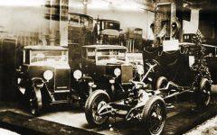 Auto show Paris 1926 masina cu transmisie sonica.