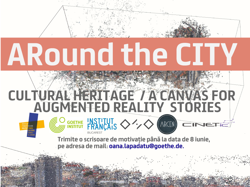 UPB sustine proiectul colectiv Francez-German-Roman – ARound the CITY
