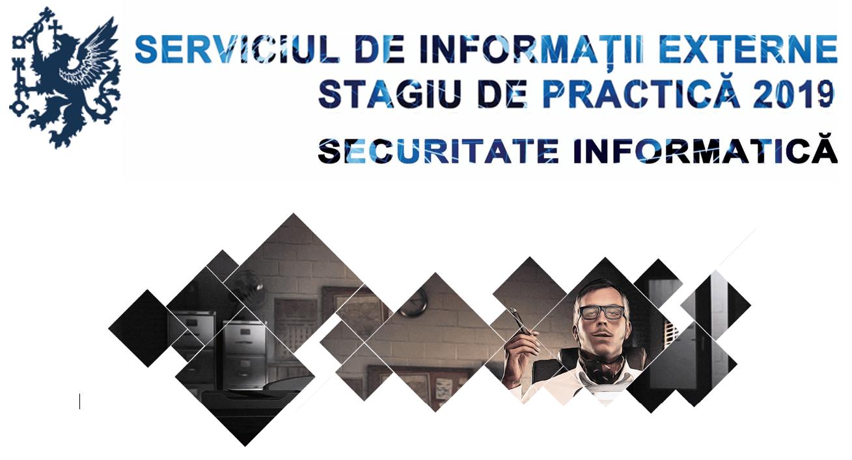 Internship Criptologie sau Securitate Informatică