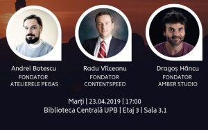 UPBIZZ aduce antrepronorii de succes ai României alături de studenții U.P.B