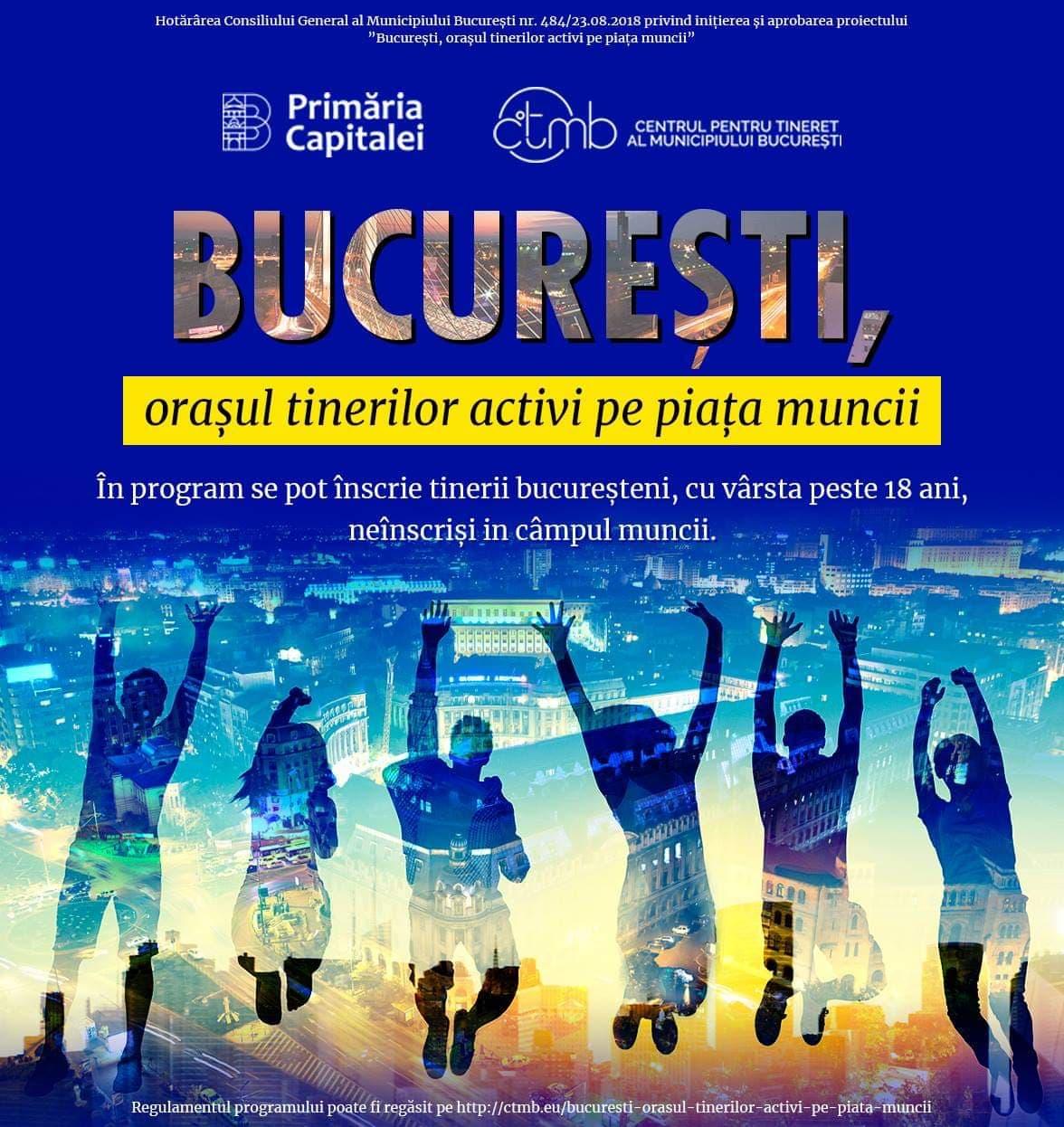 Bucuresti – Orasul tinerilor activi pe piata muncii