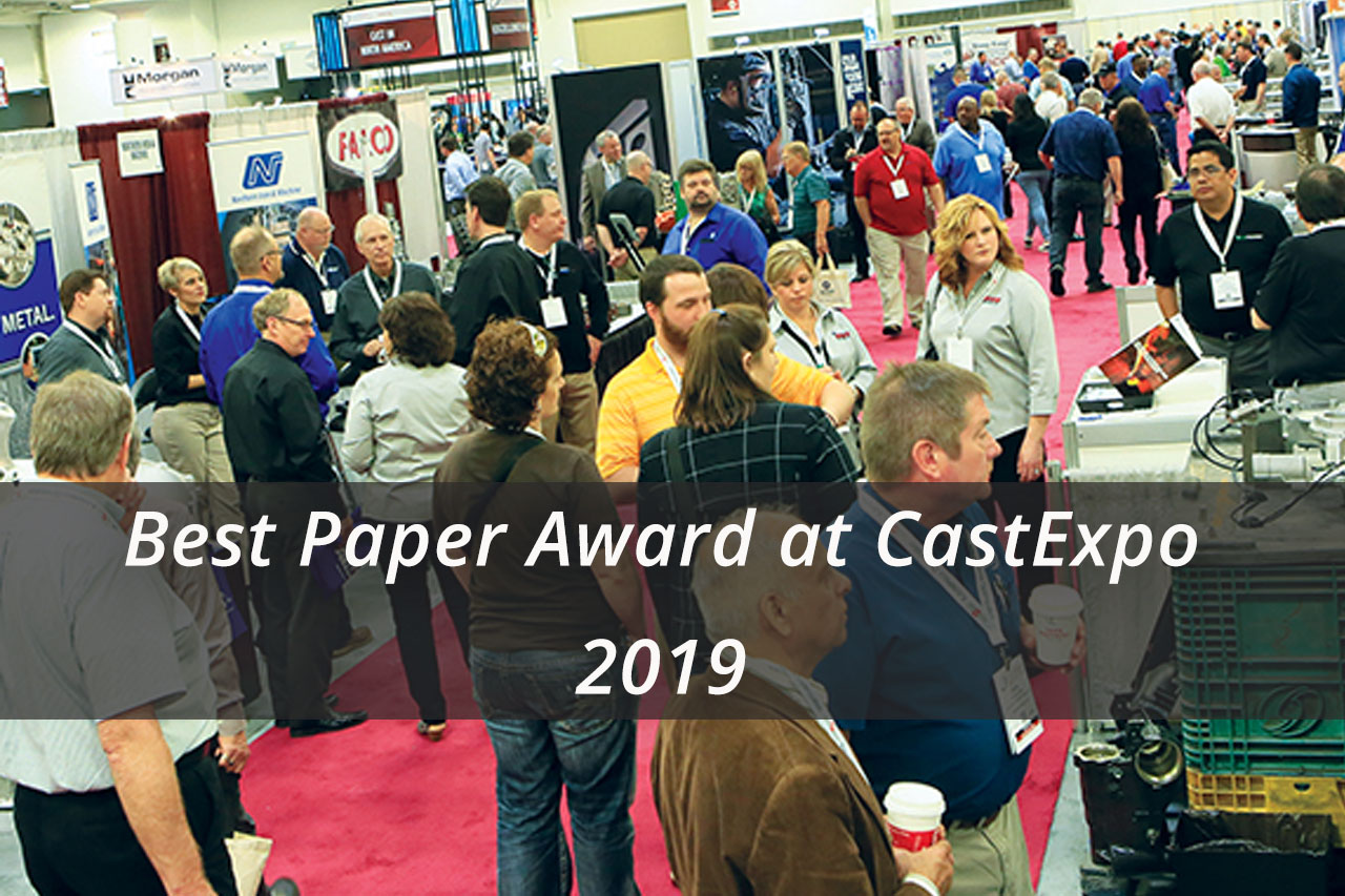 Best Paper Award at CastExpo 2019