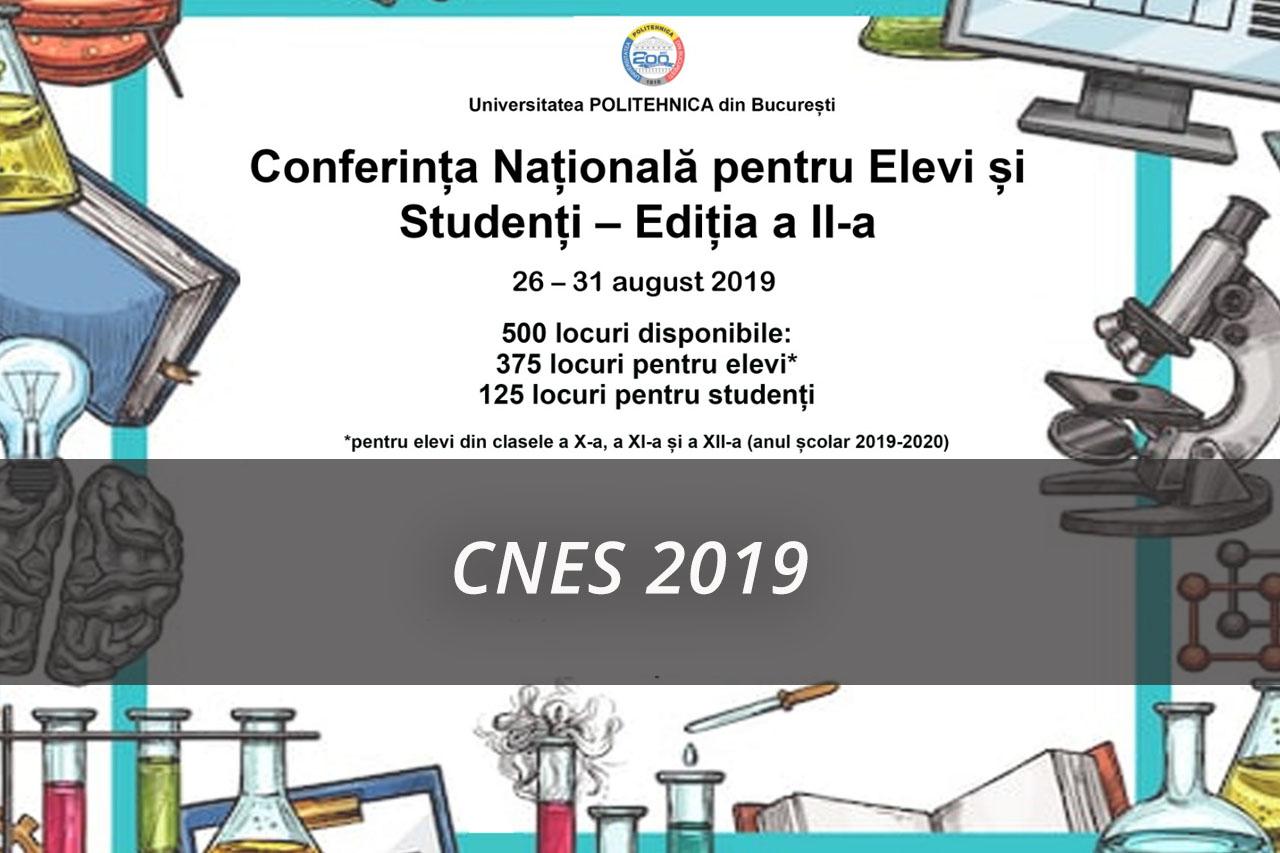 Conferința naționala pentru elevi și studenți