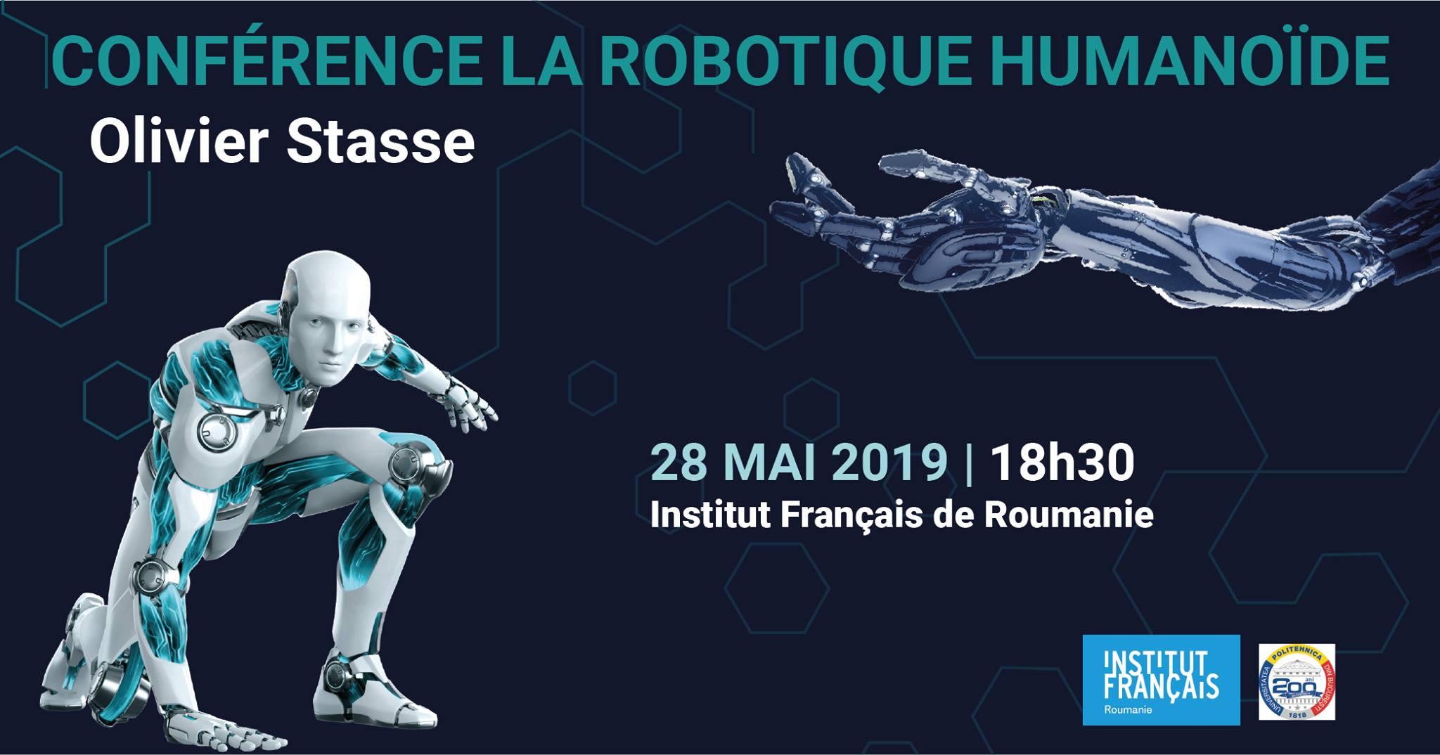 Conferință științifică - Robotica umanoidă