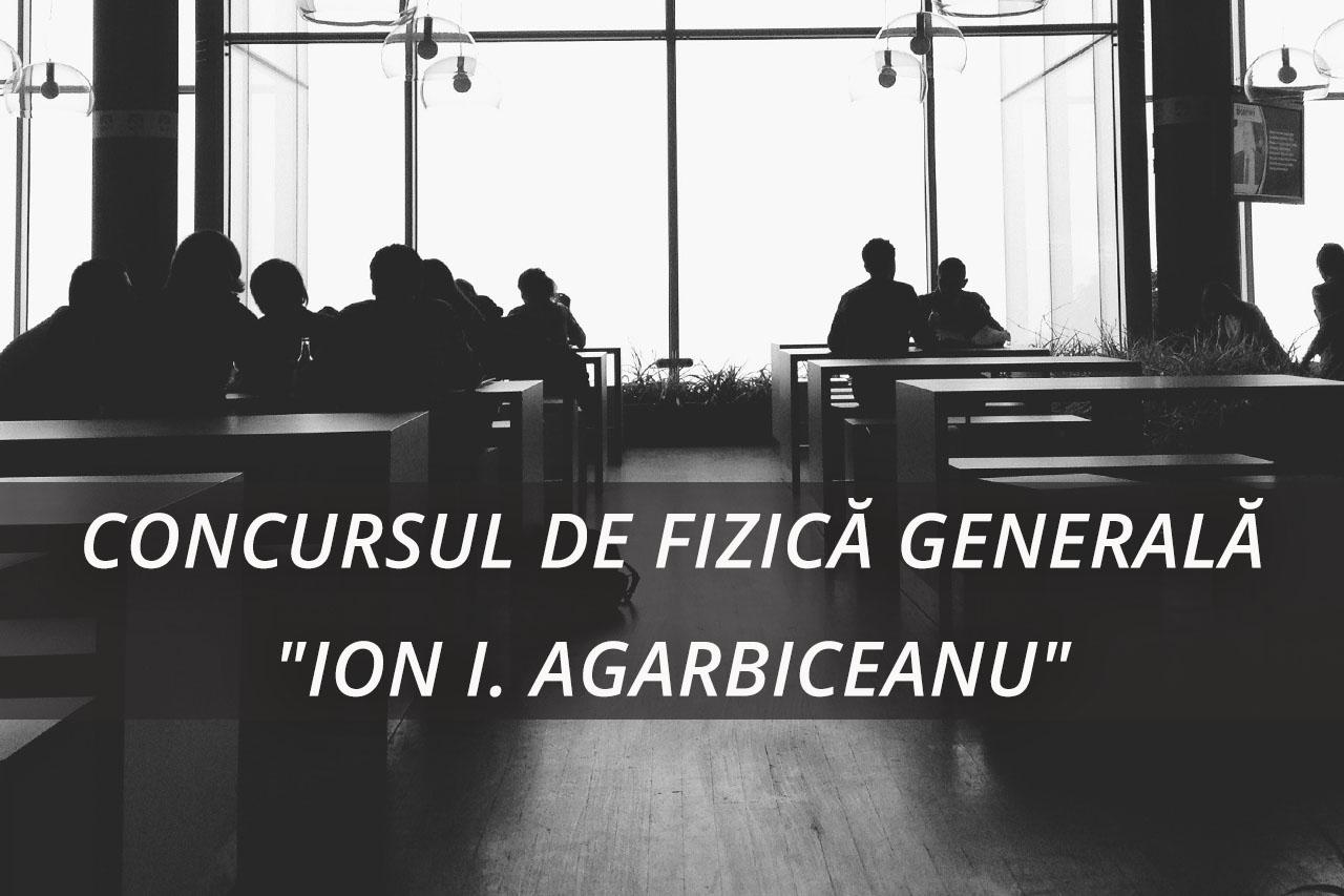 """Castigatorii Concursului de Fizica """"Ion I. Agarbiceanu 2019"""""""