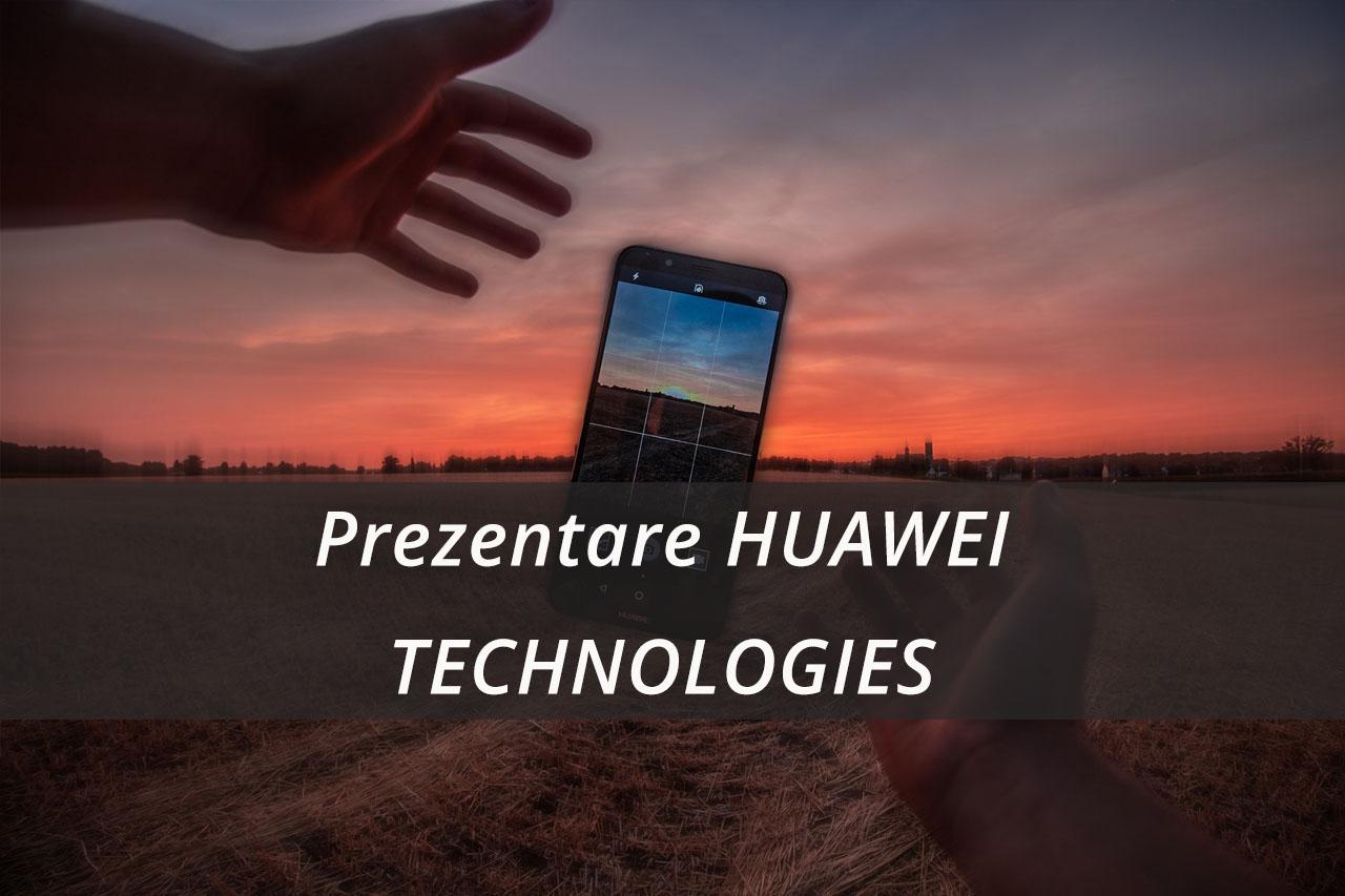 Prezentare HUAWEI TECHNOLOGIES