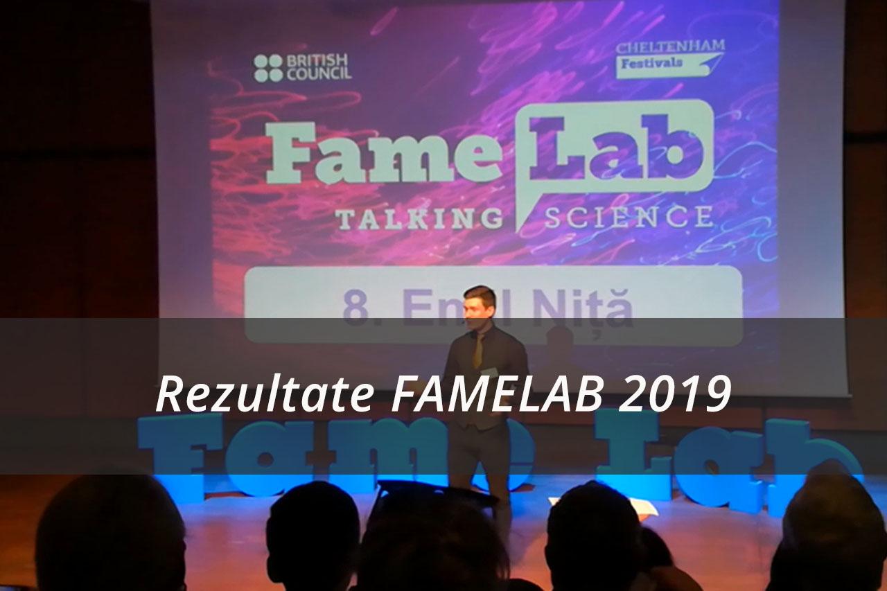 Rezultate FAMELAB 2019
