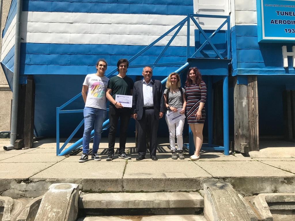 Echipa_ASAIA, Politehnica, Premiul Dassault Aviation 2019 a fost acordat unei echipe UPB-FIA