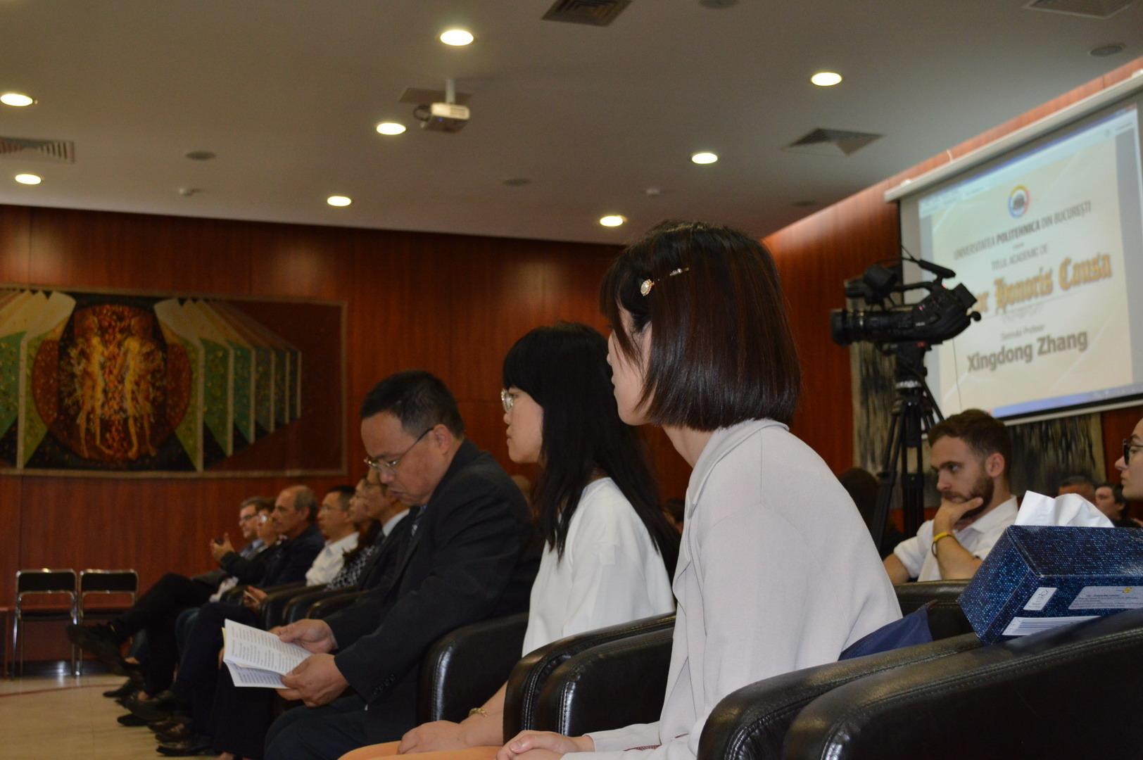 UPB va acorda astăzi Titlul Academic de Doctor Honoris Causa dlui Profesor Xingdong Zhang1