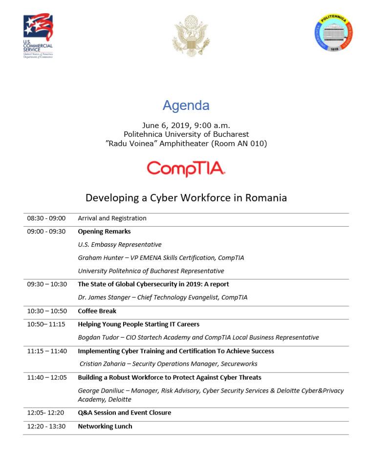 agenda comptia