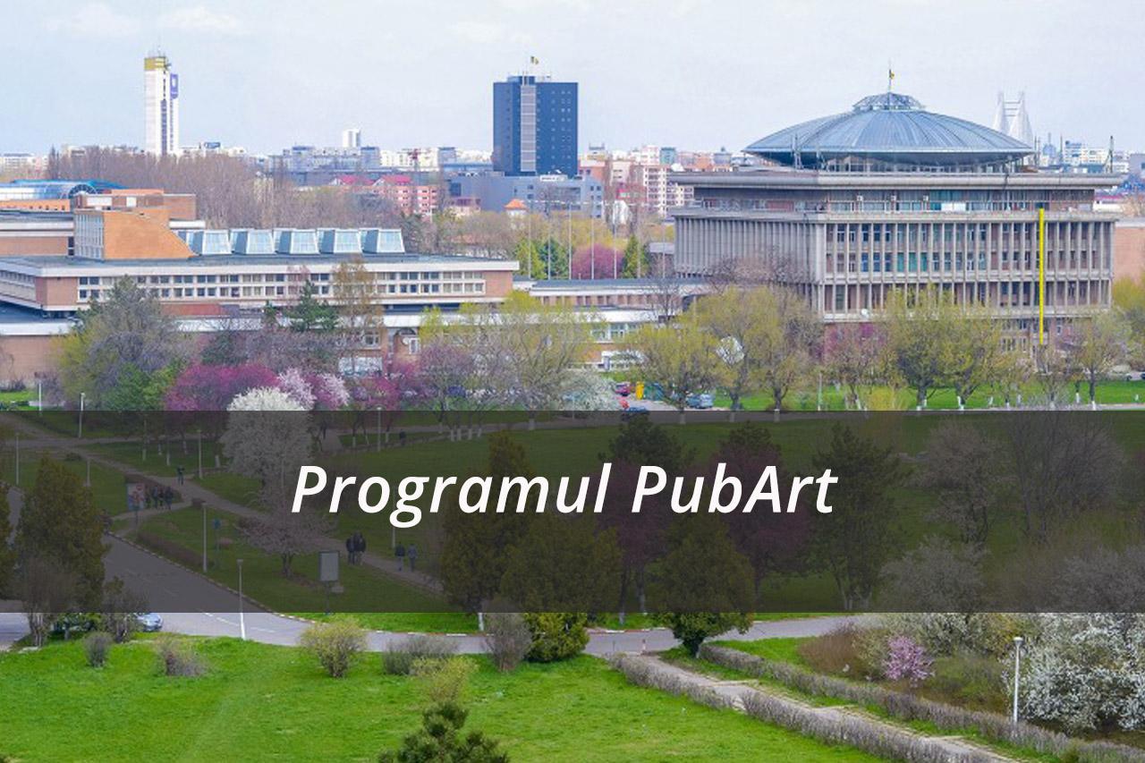PubArt – Program pentru susținerea publicării articolelor și comunicărilor științifice