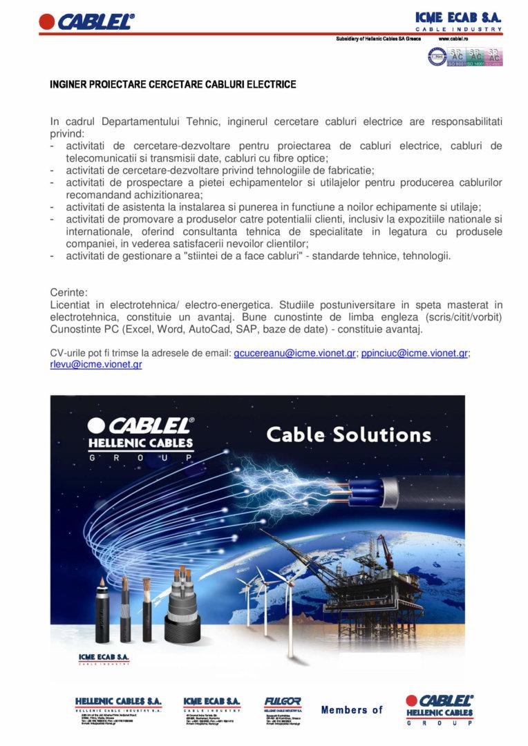 ICME ECAB_Inginer proiectare cercetare cabluri electrice (1)