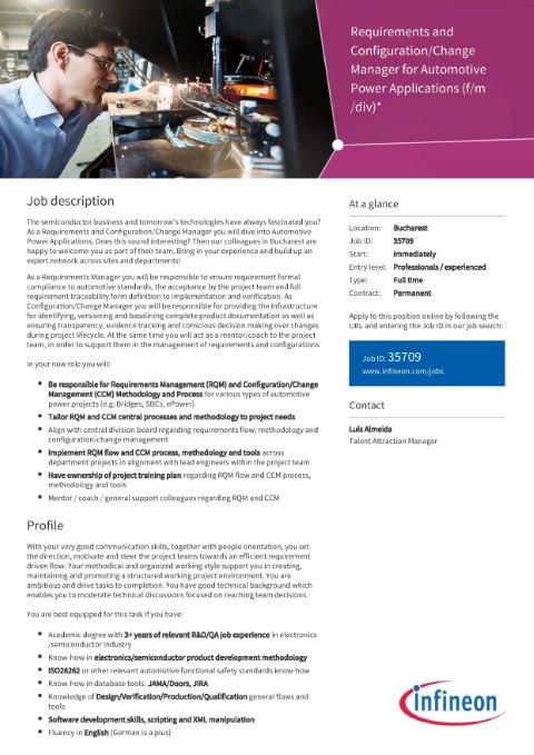 Polijobs - Infineon - RQM