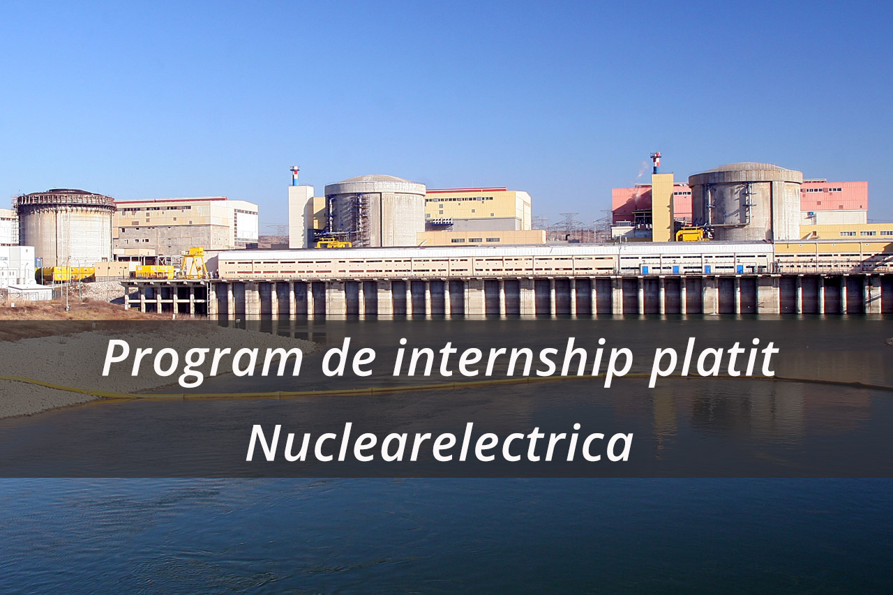 Program de internship platit Nuclearelectrica
