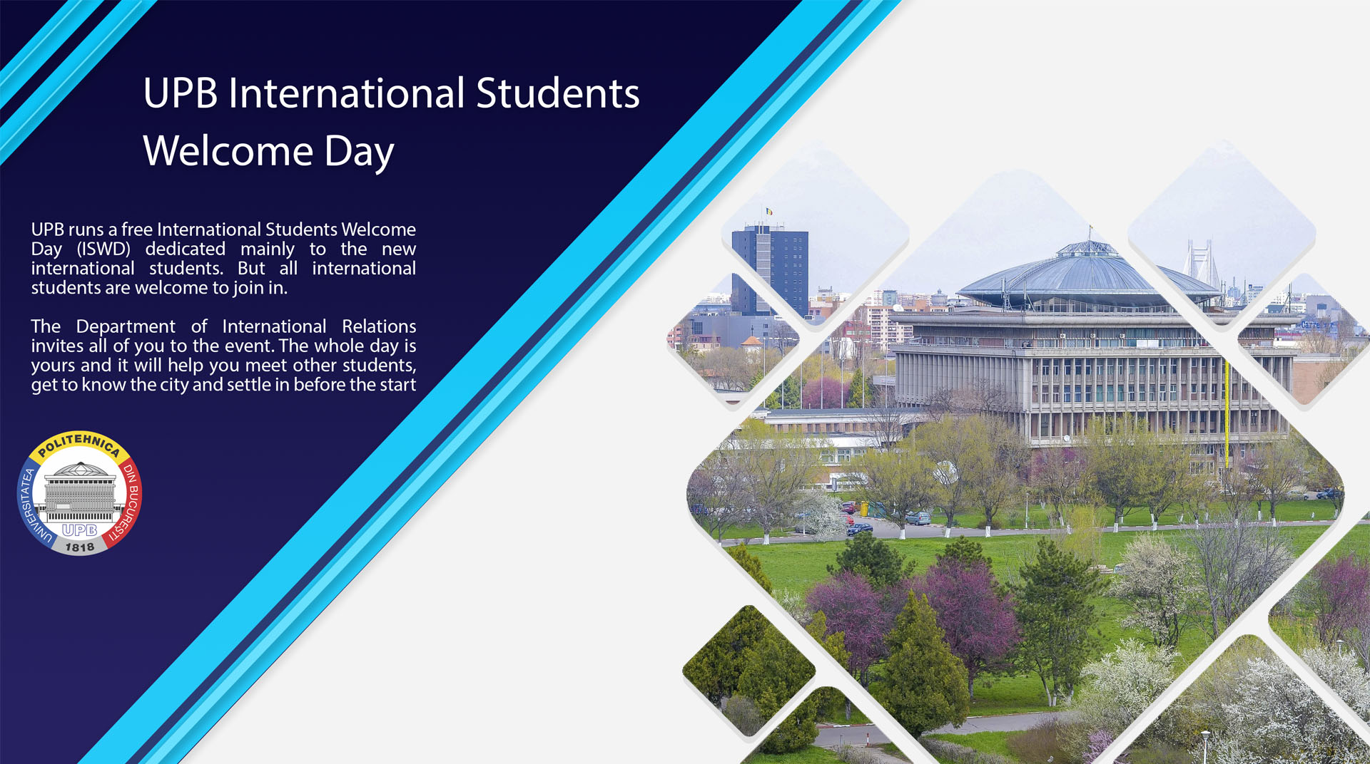UPB International Students Welcome Day
