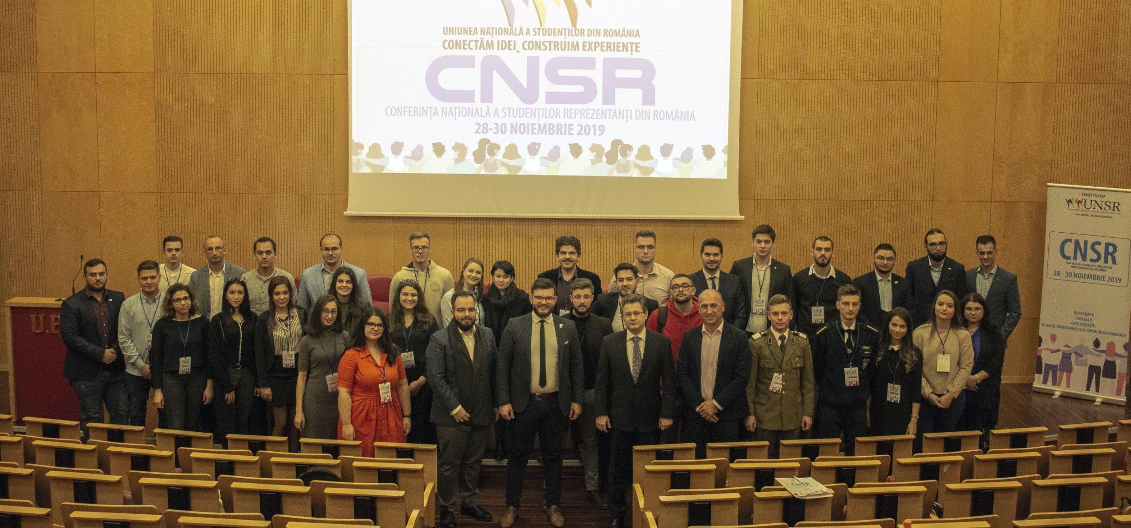 Conferința Națională a Studenților Reprezentanți – CNSR 2019