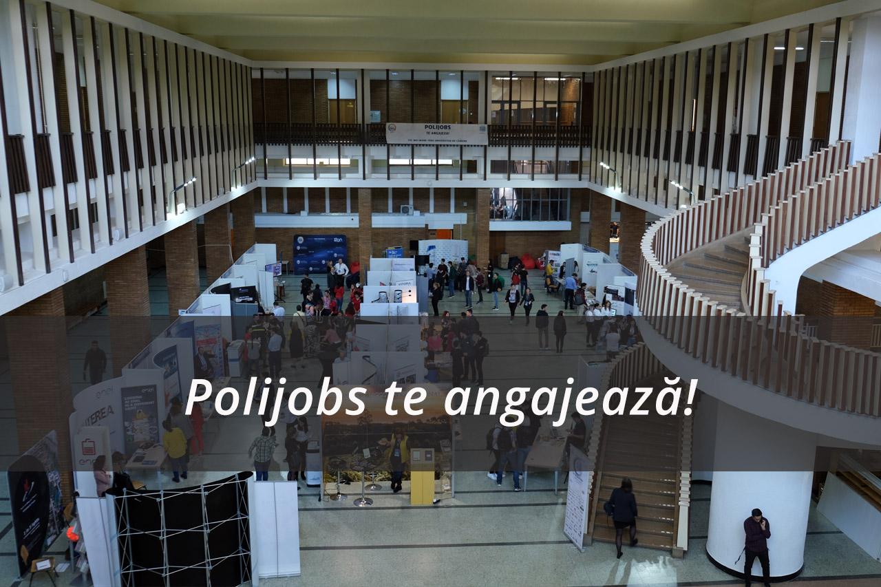 Polijobs – Cea de-a doua ediție a celui mai mare Târg de Cariere organizat de UPB