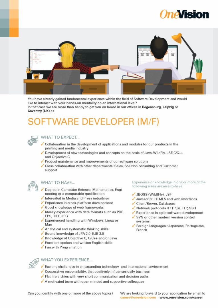 Poljobs Software Developer-EN_OneVisionSoft