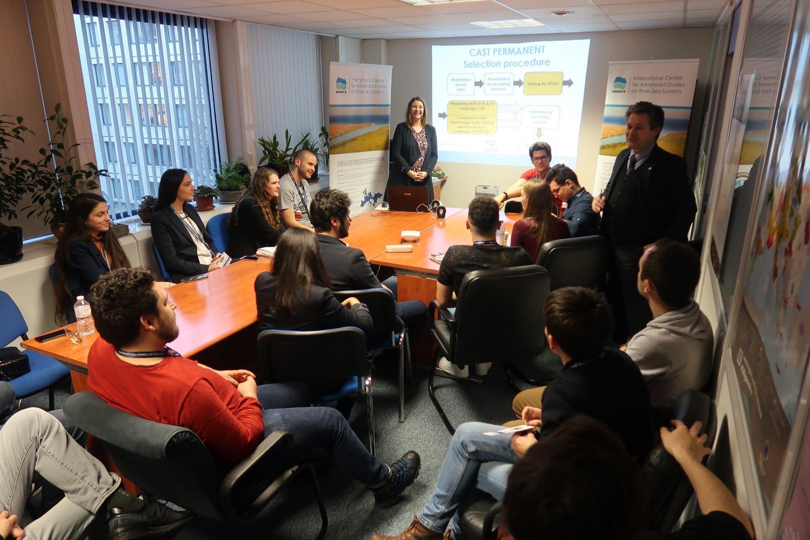 Studenții UPB prezenți la Bruxelles la invitația ROSTeu (3)
