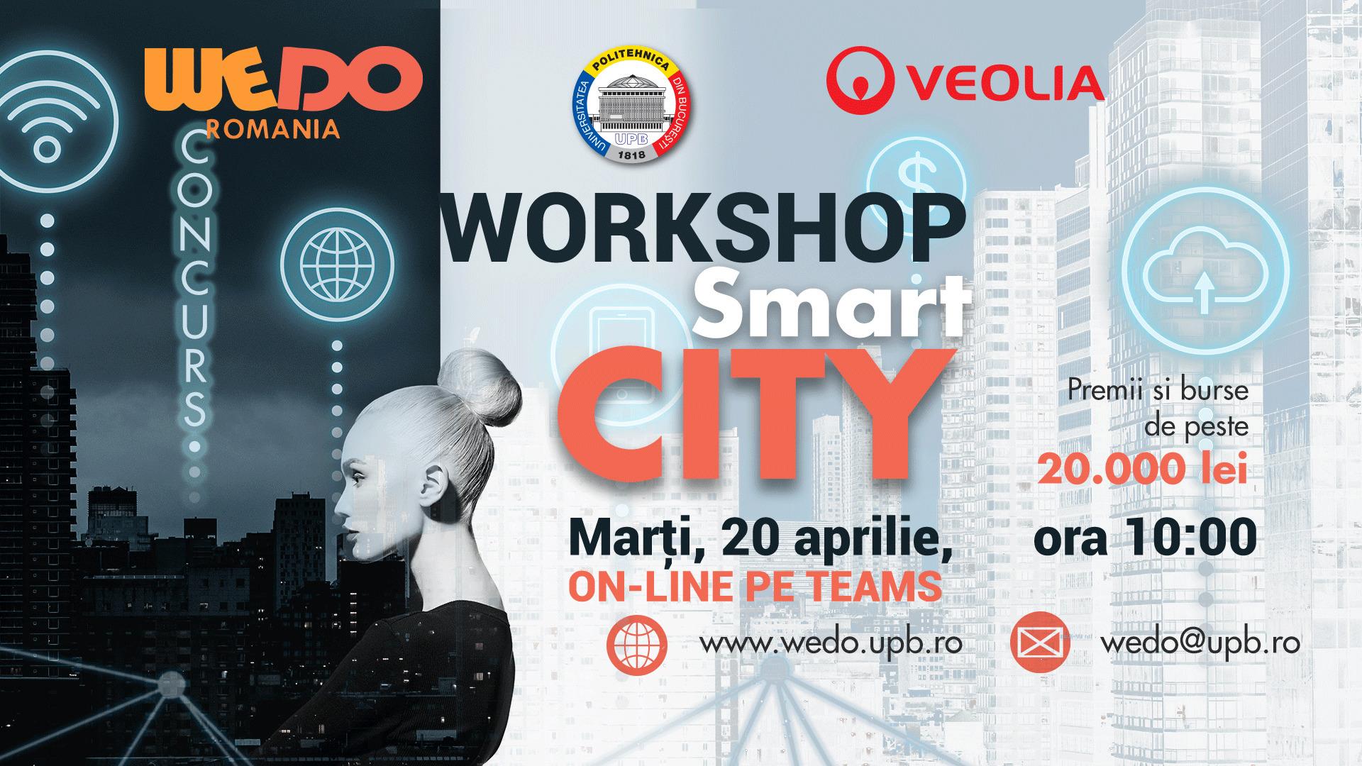 Smart City – Tematica propusa de concursul de idei WEDO 2021 – o provocare pentru viitor!