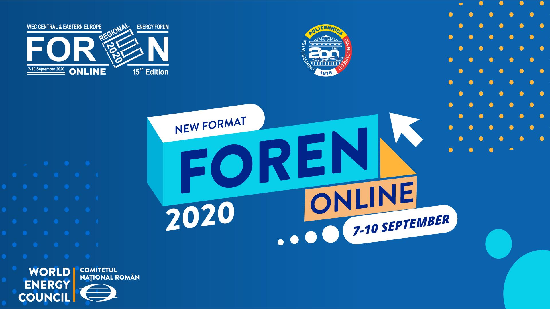 Conferința Internațională FOREN s-a desfășurat pentru prima dată ONLINE