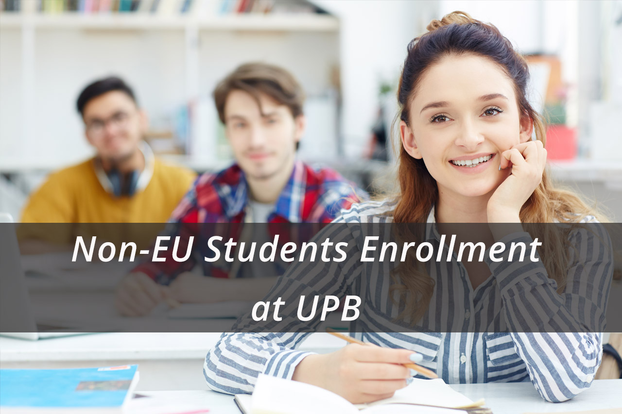 Non-EU Students Enrollment at UPB