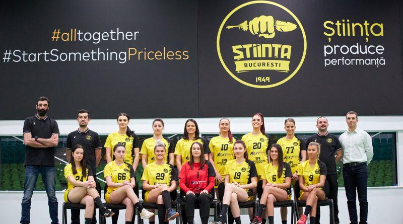 Echipa de handbal feminin CSU Știința București a reușit promovarea in Liga Națională.